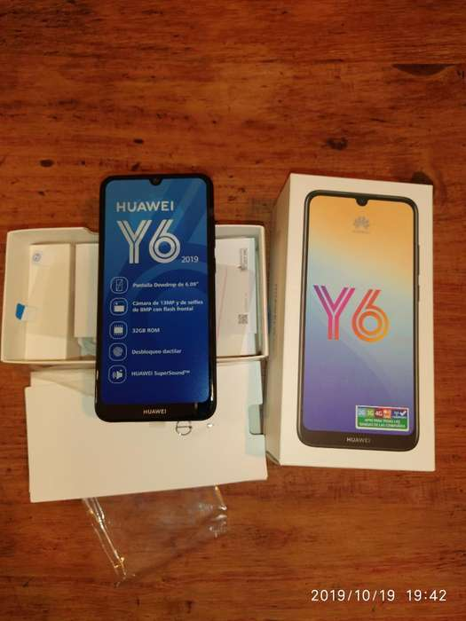 Vendo Huawei Y6 Nuevo con Funda.