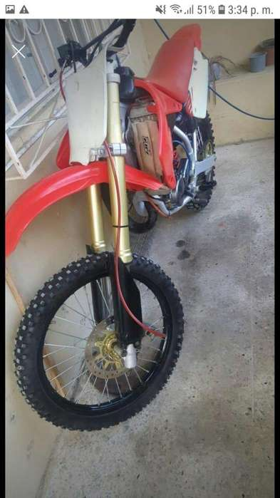 Moto <strong>honda</strong> cr 85 puesta a 125 todo en perfecto