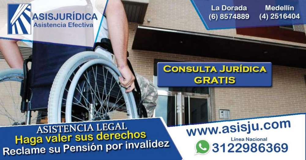 Como conseguir o solicitar la pensión de invalidez Abogados especialistas asesoría o consultorio jurídico