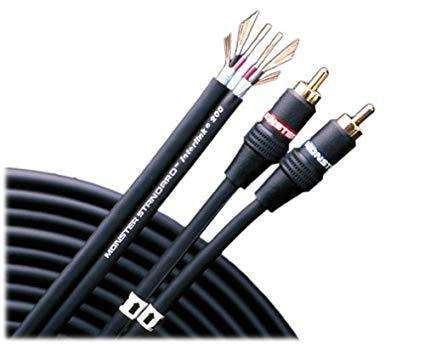 Monster Interlink 200 Audio Cable 4 Metros Subwoofer
