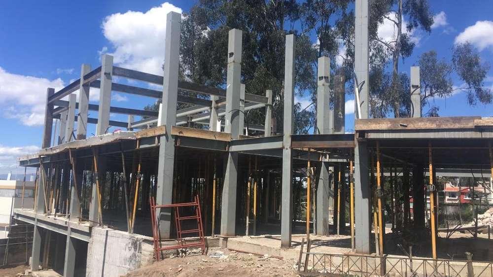 Construccion con Estructuras Metalicas Quito, Casas, Edificios, Galpones. TECHART. Planos y aprobaciones.