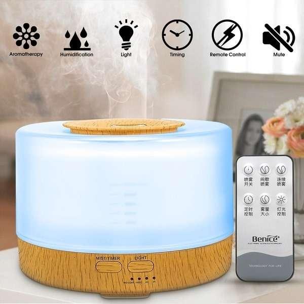 calentadores ambiente purificador aire difusor aromas benice