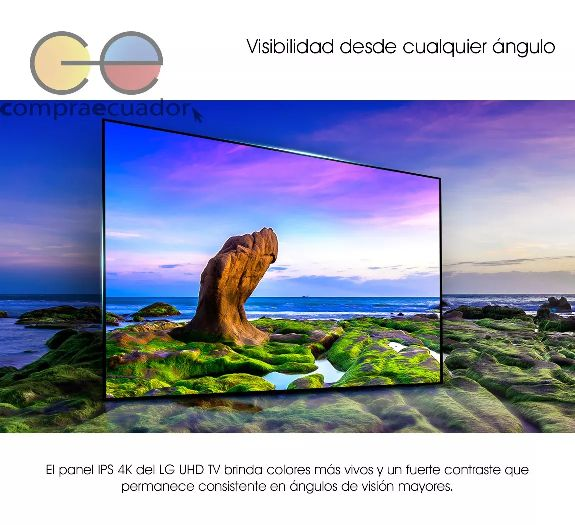 Lg Televisor Led 65 4k Uhd Hdr Smart Tv Webos 3.5 Wifi Hdmi