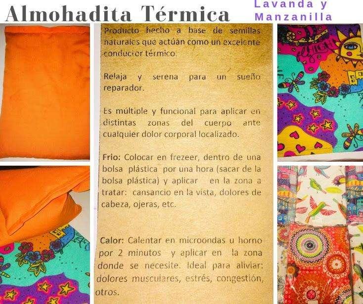 Almohaditas Termincas Lavanda y Manzanilla 300,00 c/u