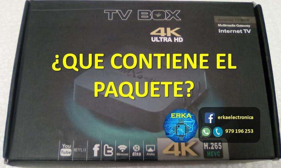 Smart Tv Box Android 7 Cambia Tu Televisor A Smart Erkaelectronica