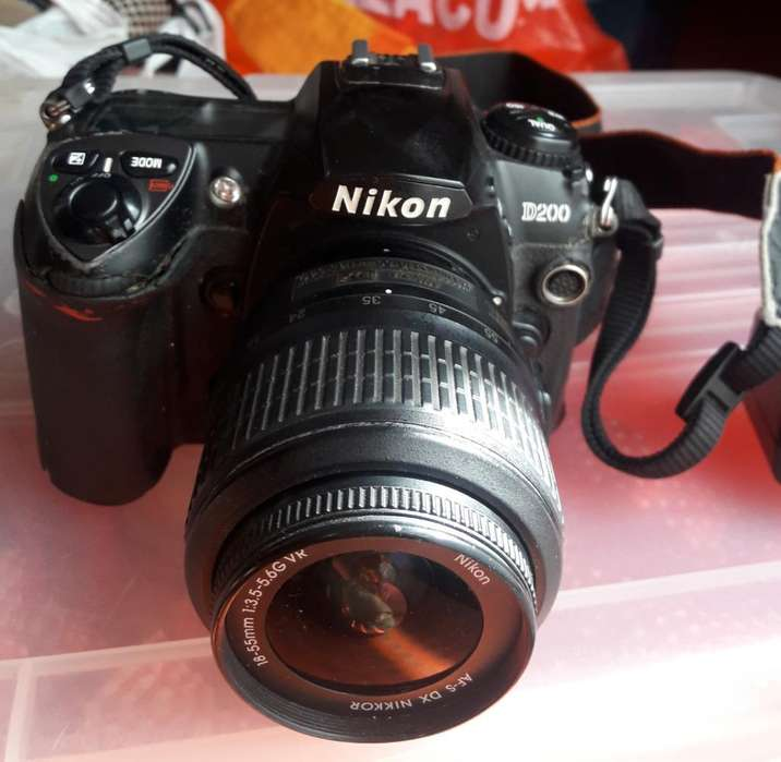 Camara Nikon D200