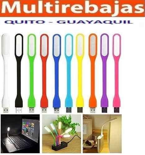 Mini Lampara Led USB Flexible Para Notebook Laptop