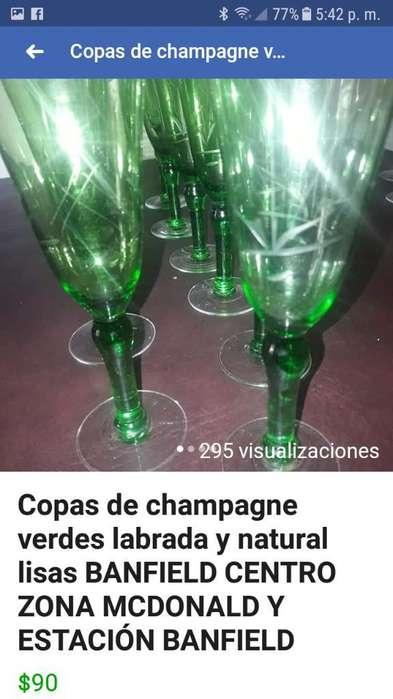 <strong>copas</strong> Champagne Verdes 11 Unidades Banfi
