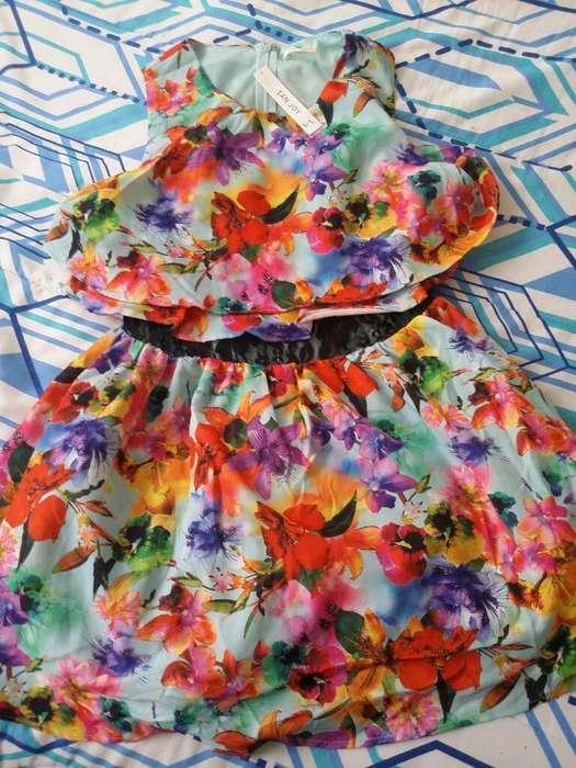 Vestido de Florez