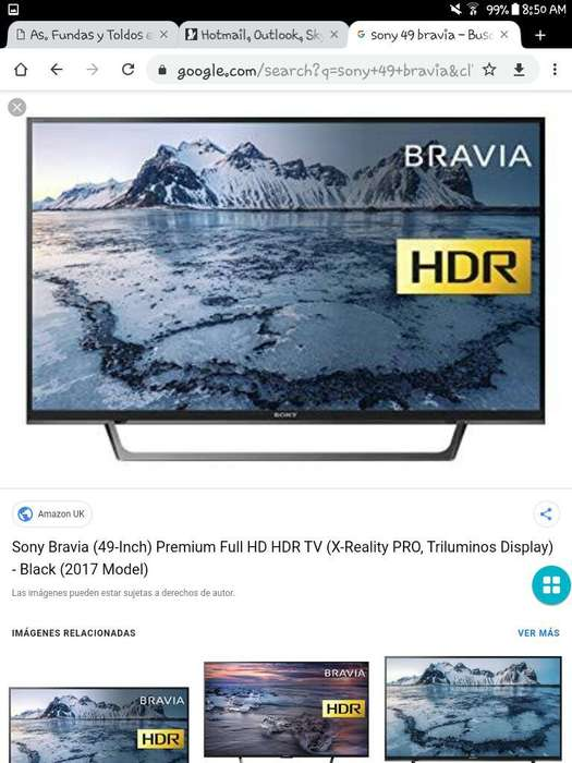 Tv Sony Bravia 49 Pulgadas