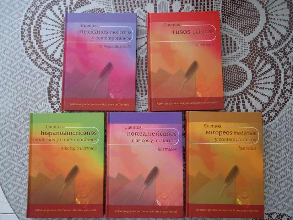 Colección Grandes Escritores De La Literatura Universal - Cuentos