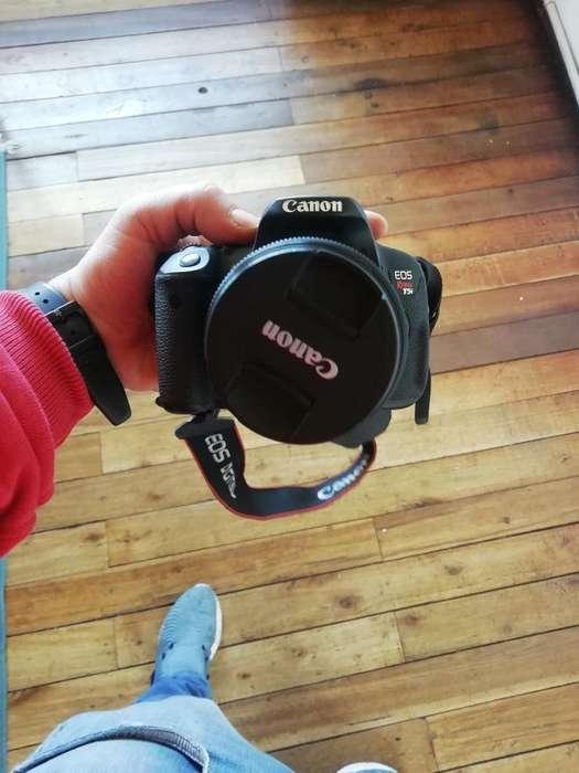 Vendo Canon T5i Usada Poco Uso
