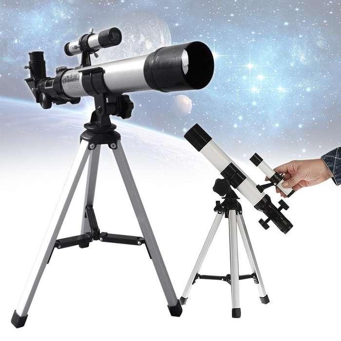 Telescopio 40mm Astronómico Luna Cuerpos Celestes Niños Adultos RF F400
