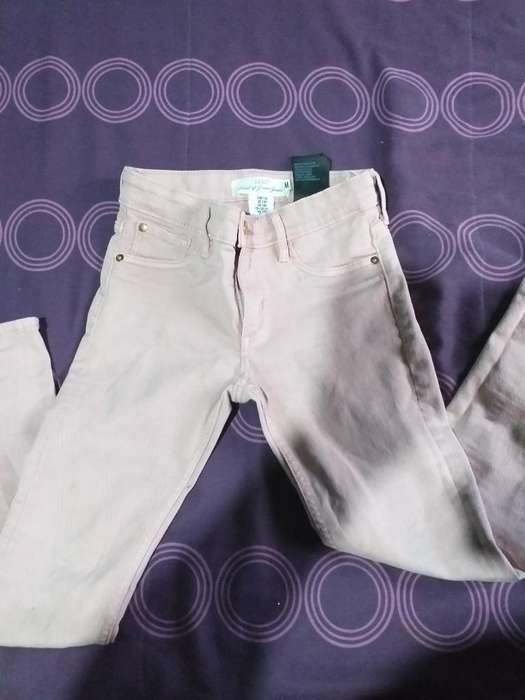 Jeans Rosa Hym Talle 8