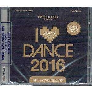 I Love Dance 2016 Cd Sellado By Drone Bbucaramanga