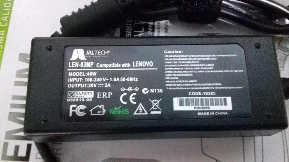 Cargador Para Portatil Lenovo 20 V 2 A