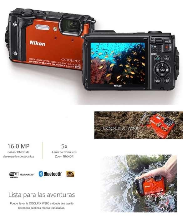 Cámara <strong>digital</strong> Nikon W300 Coolpix