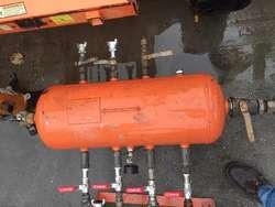 Distribuidores lineas de aire con/sin tanque val. segurida