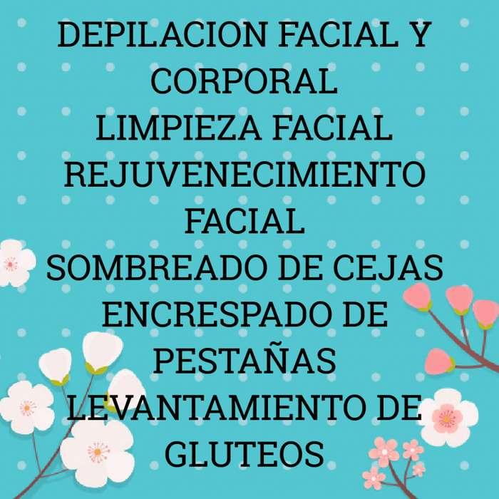 Depilacion con Cera Y Limpieza Facial