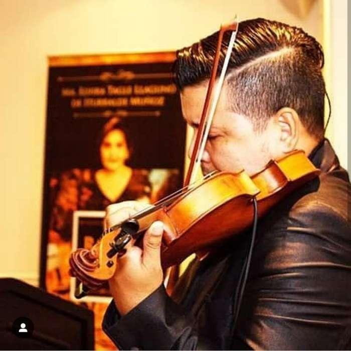 Violinista Profesional Y Musicos Eventos