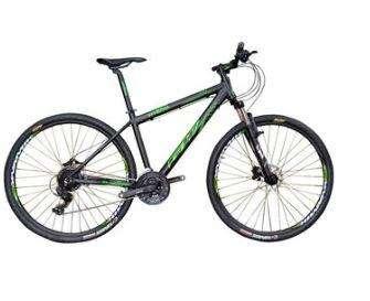 Bicicleta de Montaña GW Hyena 29 Shimano F. Mecanico 21Vel Negro ALUMINIO