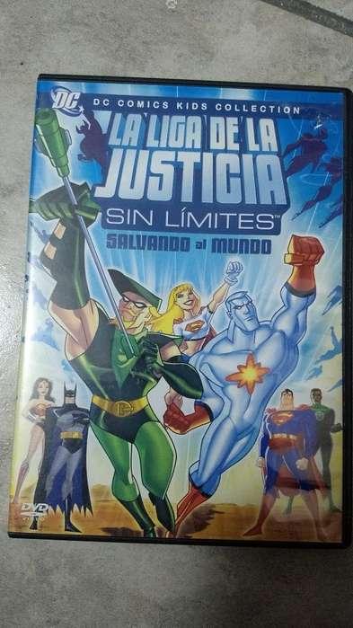 Dvd Liga de La Justicia