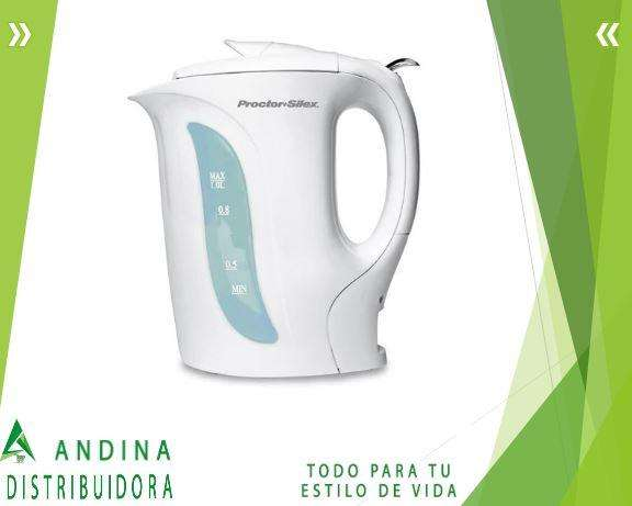 <strong>cafetera</strong> Tetera Eléctrica 1 Lt. K2070y