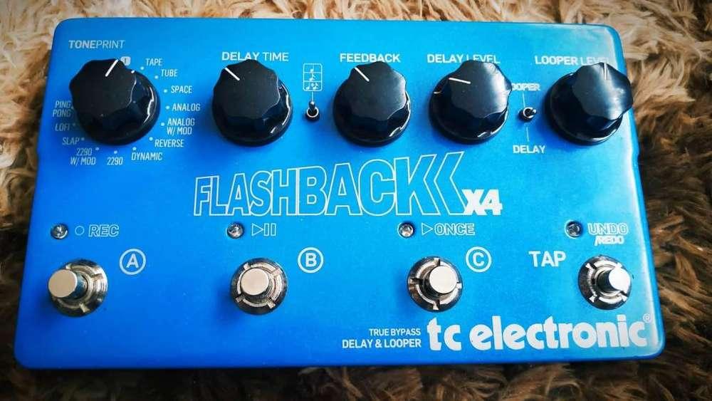 REMATOO Flashback x4 Delay - loop etc. Tc Electronics