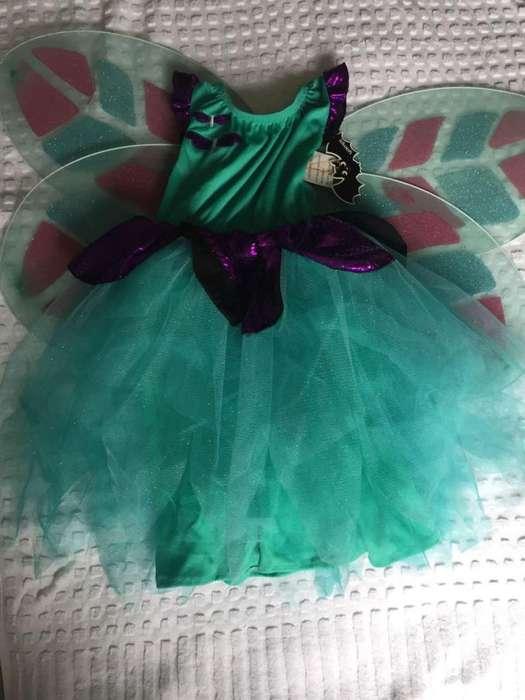 Disfraz de mariposa niña