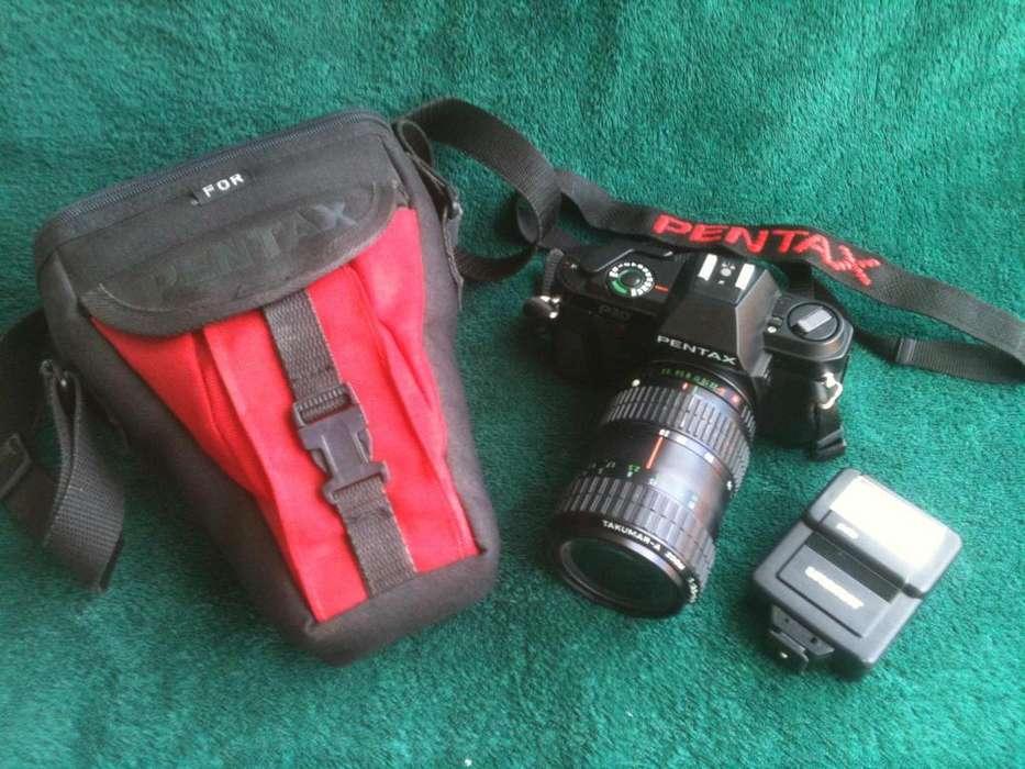 Cámara Analógica Pentax P30 Con Zoom 28/80mm