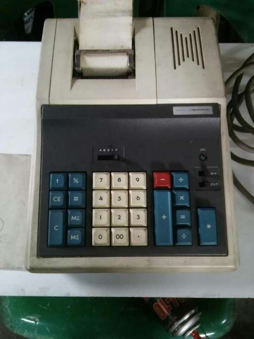 Calculadora Electrica con Impresor