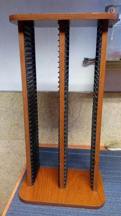 Porta Cd Madera 72 Unidades