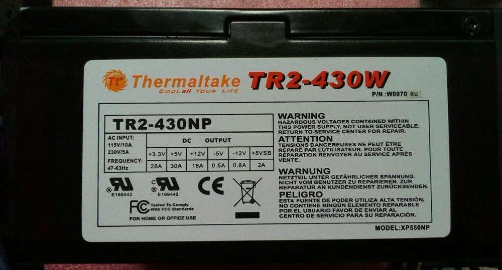 Fuente de Poder Thermaltake 430w