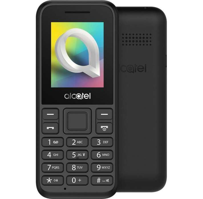 Celular Alacatel ot 1066 radio FM reproductor mp3 linterna
