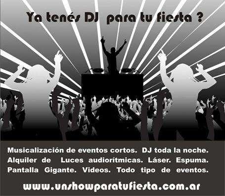 EL MEJOR DJ DE ZONA SUR DE GBA