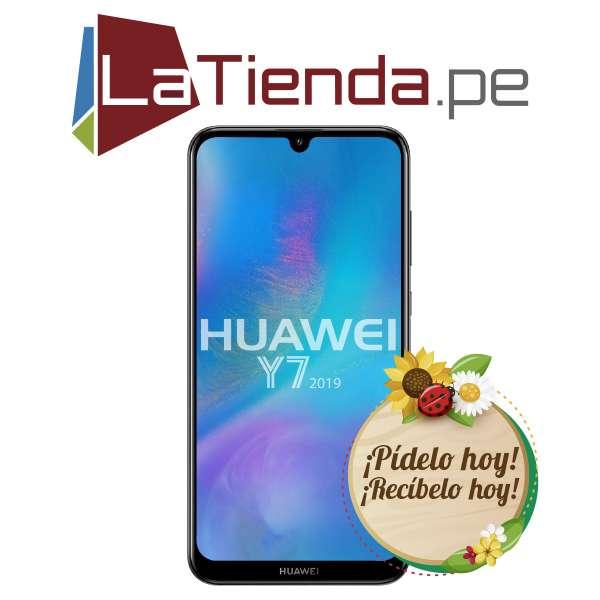Huawei Y7 2019 - pantalla HD de 6.27 pulgadas