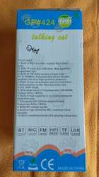 NUEVO parlante inalámbrico bluetooth MP3 gato Tom cat USB a batería con control remoto