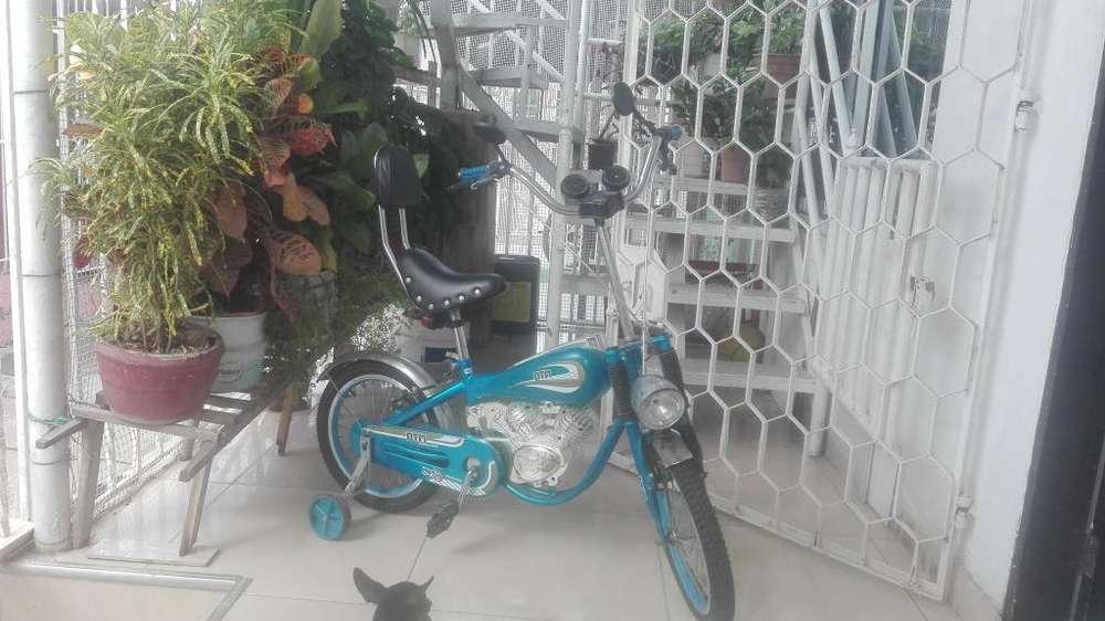 Vendo hermosa bicicleta por 150