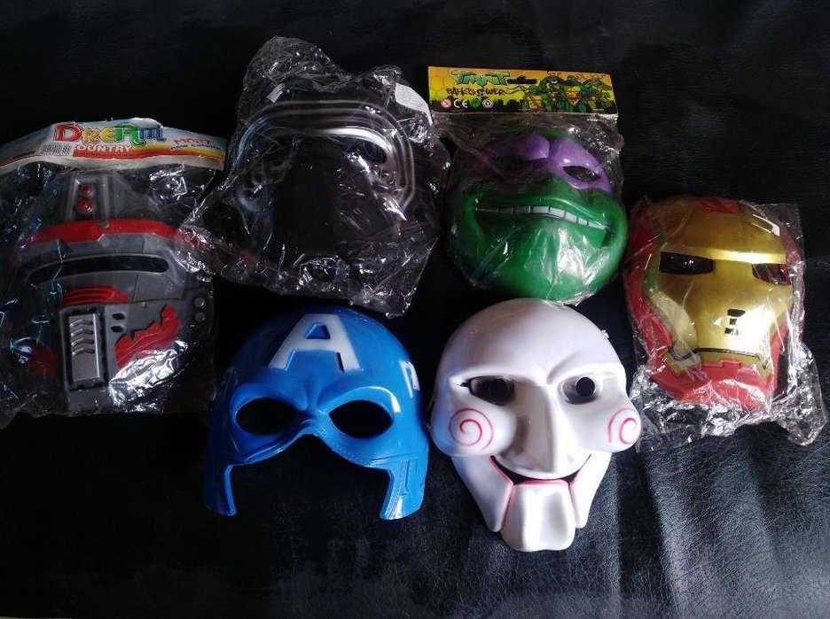 Mascara en Plastico Duro para Niño 6 Mil