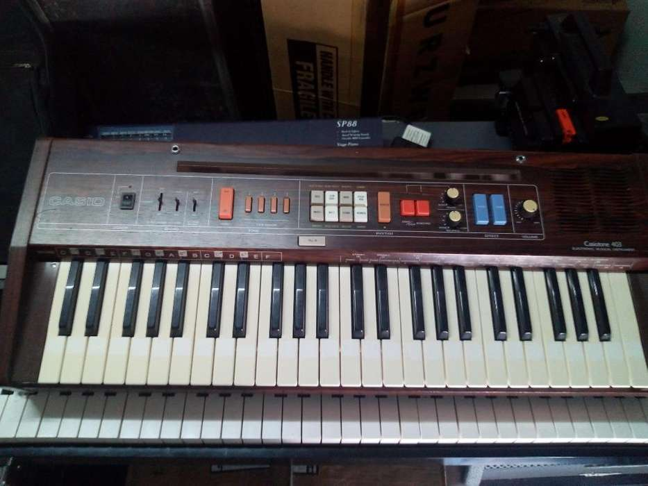 Teclado Casio Tone 403 Vintage