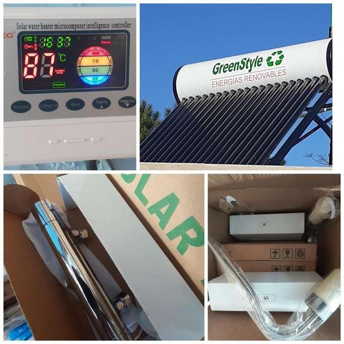 Venta e instalacion de equipos para agua caliente sanitaria y energia
