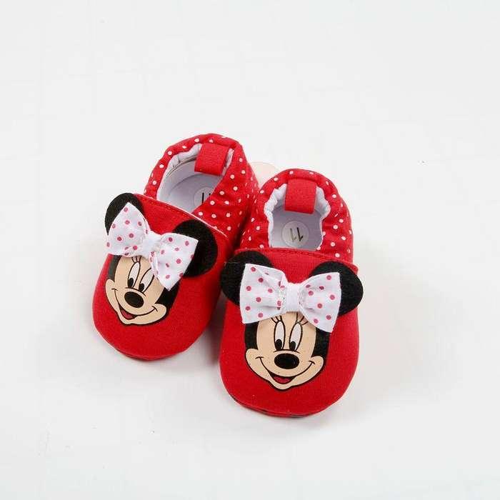 Zapatos Bebe Antideslizante Babuchas Niña minnie