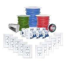 MATERIALES ELECTRICOS DOMICILIARIOS / ROLLOS CABLES 680 Pesos / ENVIOS LA PLATA S/C