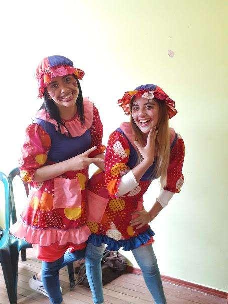 show de payasos y recreacionistas para animar fiestas pintucaritas halloween