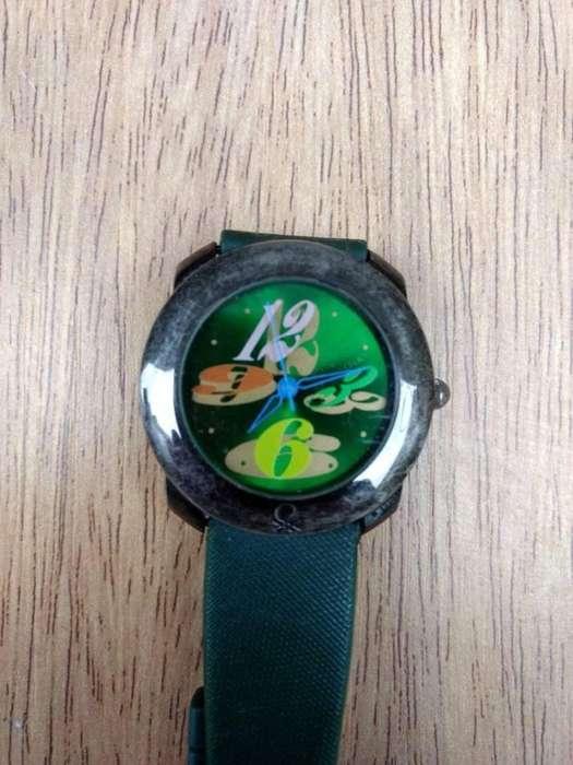 LIQUIDO Reloj pulsera Benetton A REVISAR