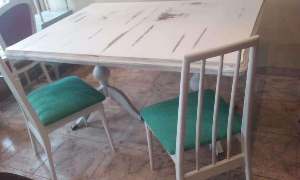 4 restauradas <strong>silla</strong>s por 10 mil pesos
