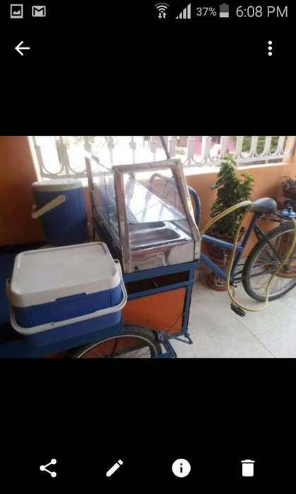 Triciclo para La Venta de Pasteles