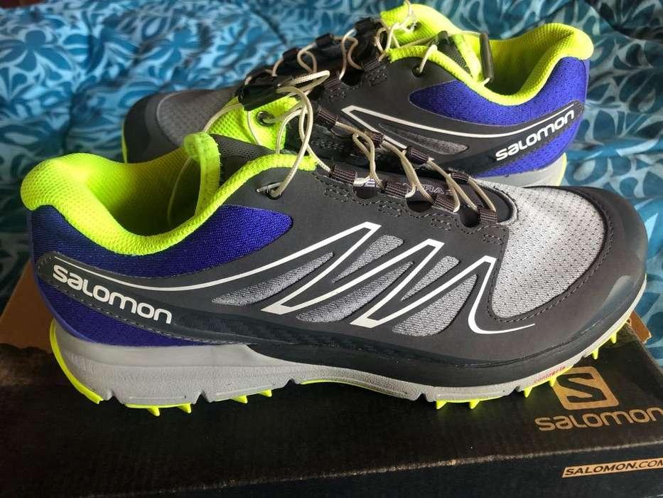 Zapatos Salomon Talla 7 Y 9 Originales