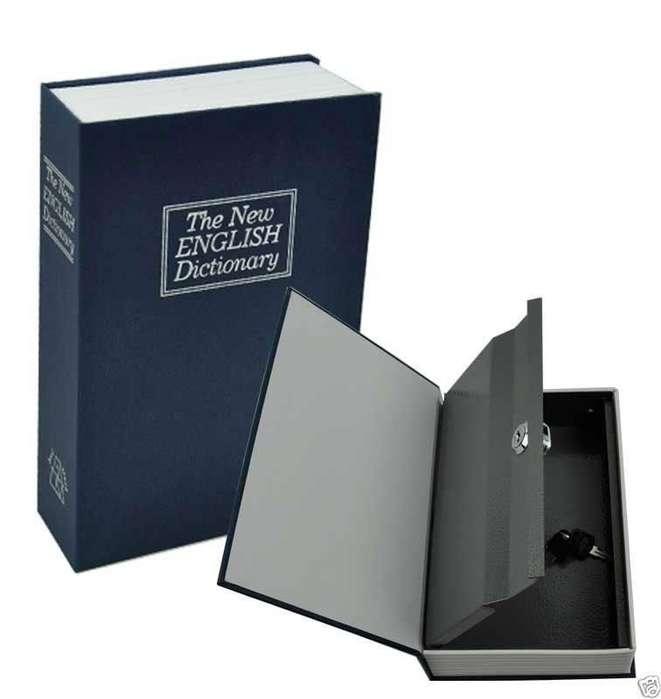 Caja Fuerte Grande Con Forma De Libro