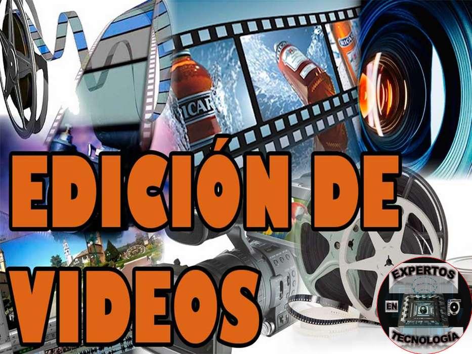 EDICIÓN DE VÍDEO Y/O AUDIO, EXPERTOS EN TECNOLOGÍA